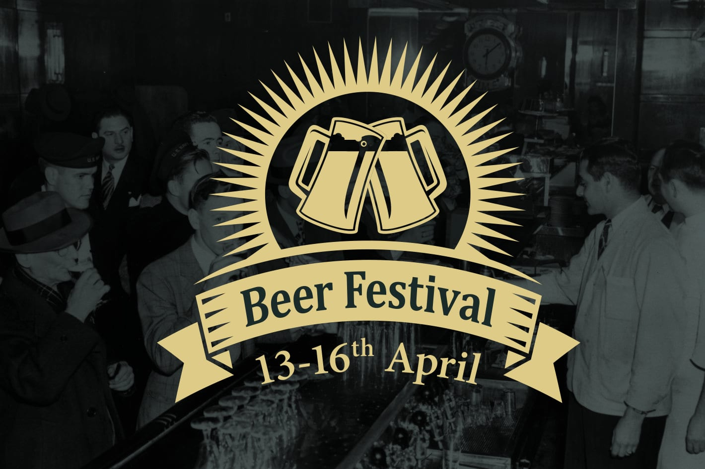 April beer festival in Banbury at The White Horse, North Bar